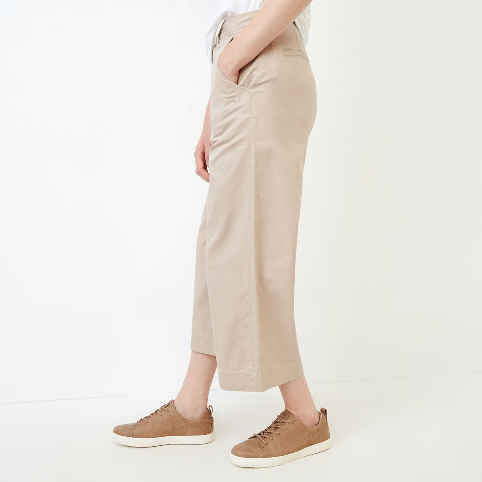 Roots-Women Categories-Widewater Pant-True Khaki-C