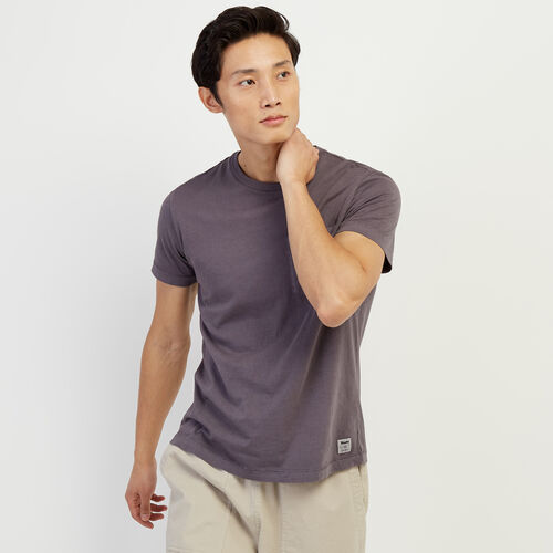 Roots-Men Clothing-Essential Pocket T-shirt-Shale-A