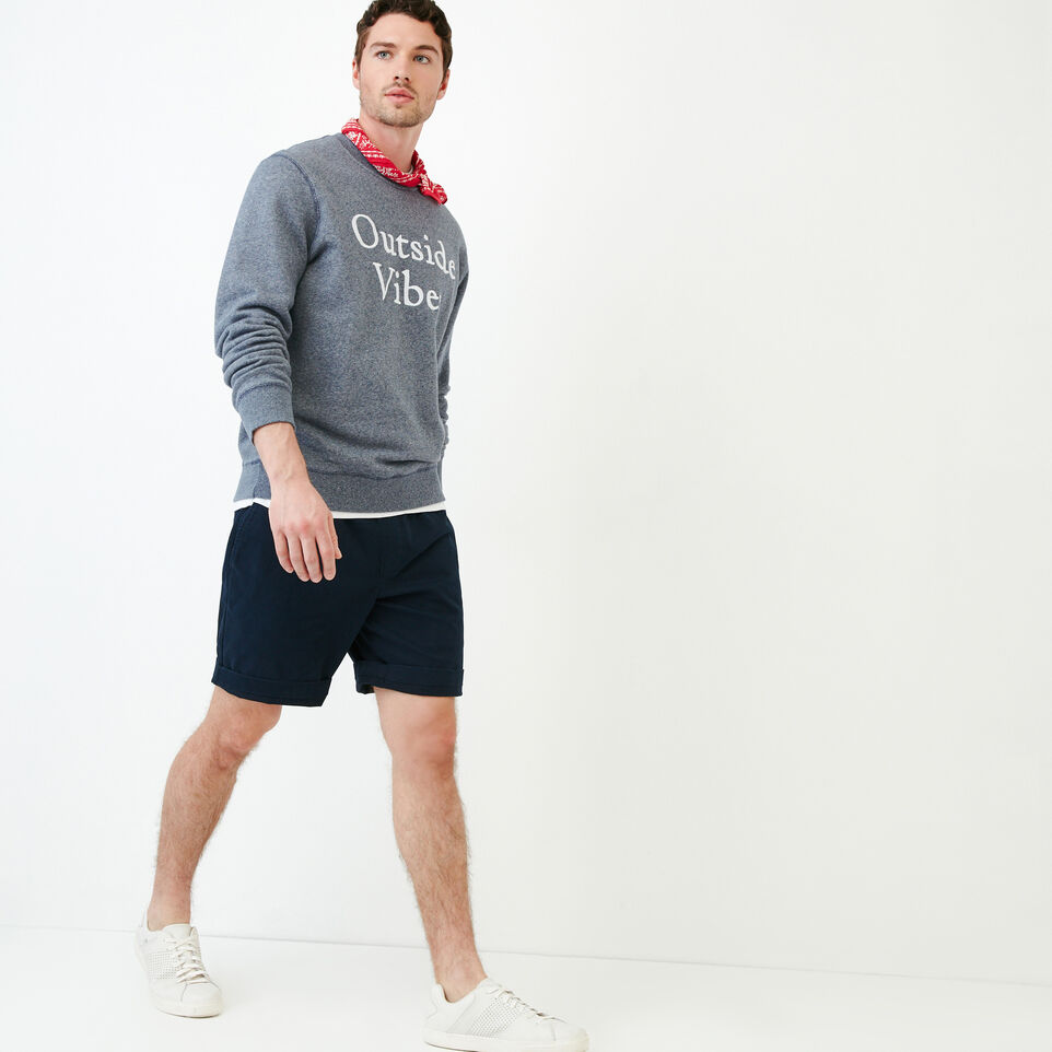 Roots-undefined-Quotes Crew Sweatshirt-undefined-B