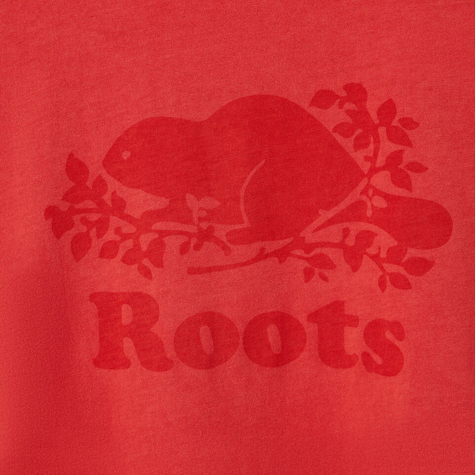 Roots-Women Graphic T-shirts-Womens Sunkissed T-shirt-Chrysanthemum-D