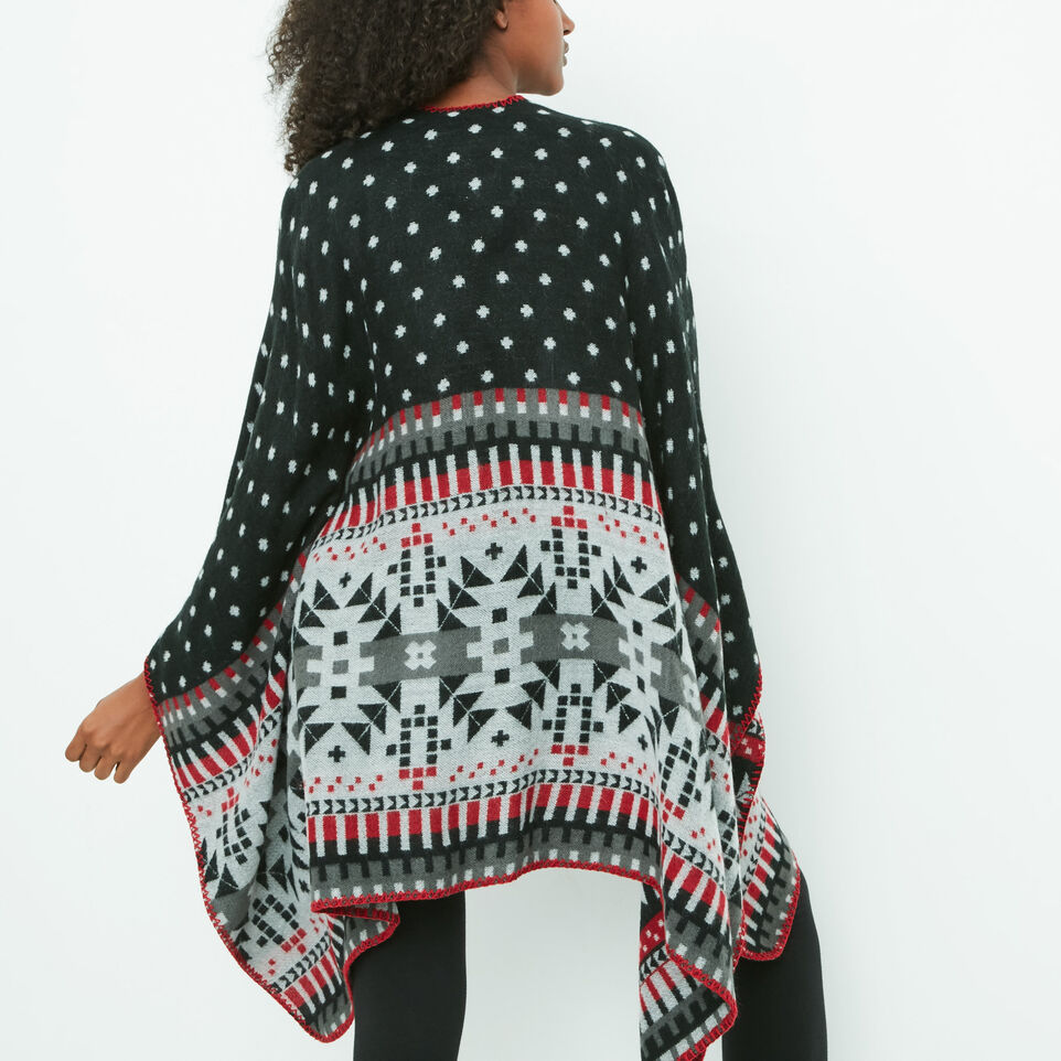 Roots-undefined-Jocelyn Blanket Wrap-undefined-A