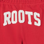 Roots-Kids Canada Collection-Girls Canada Short-Sage Red-D