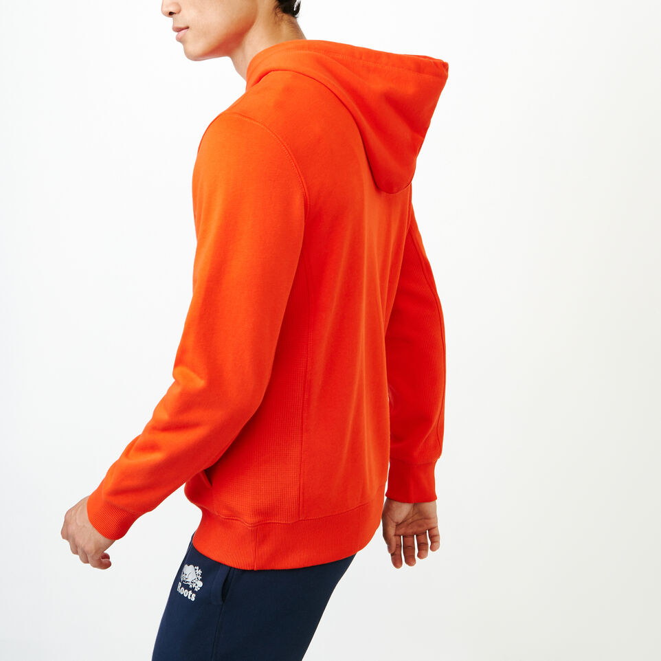 Roots-Men Our Favourite New Arrivals-Roots Breathe Hoody-Spicy Orange-C