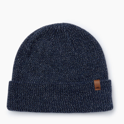 Roots-Men Accessories-Hamilton Toque-Navy Blazer Mix-A