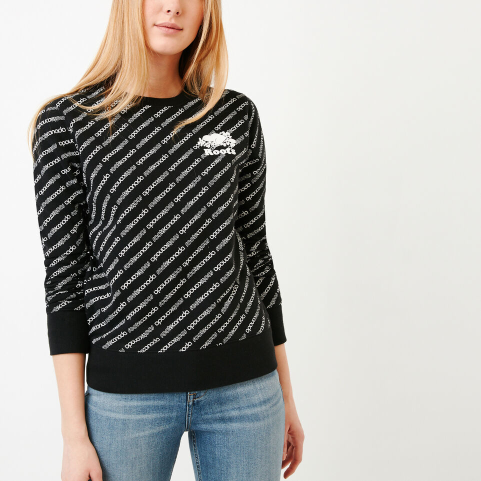 Roots-undefined-Peleton Crew Sweatshirt-undefined-A