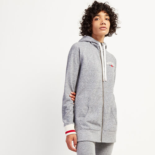 Roots-New For October The Roots Cabin Collection™-Cabin Capri Full Zip Hoody-Salt & Pepper-A