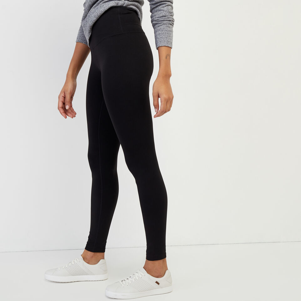Roots-New For February Journey Collection-High Waist Journey Legging-Black-C