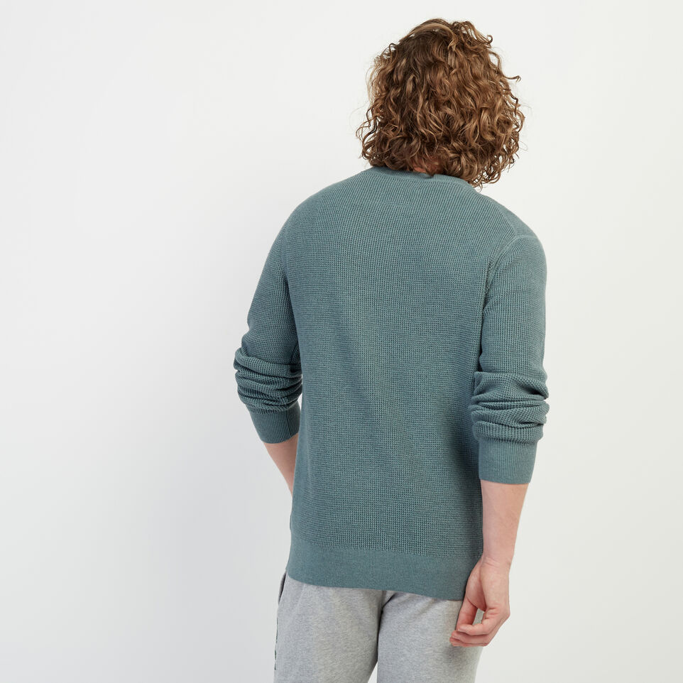 Roots-New For February Journey Collection-Journey Sweater Crew-North Atlantic Mix-D