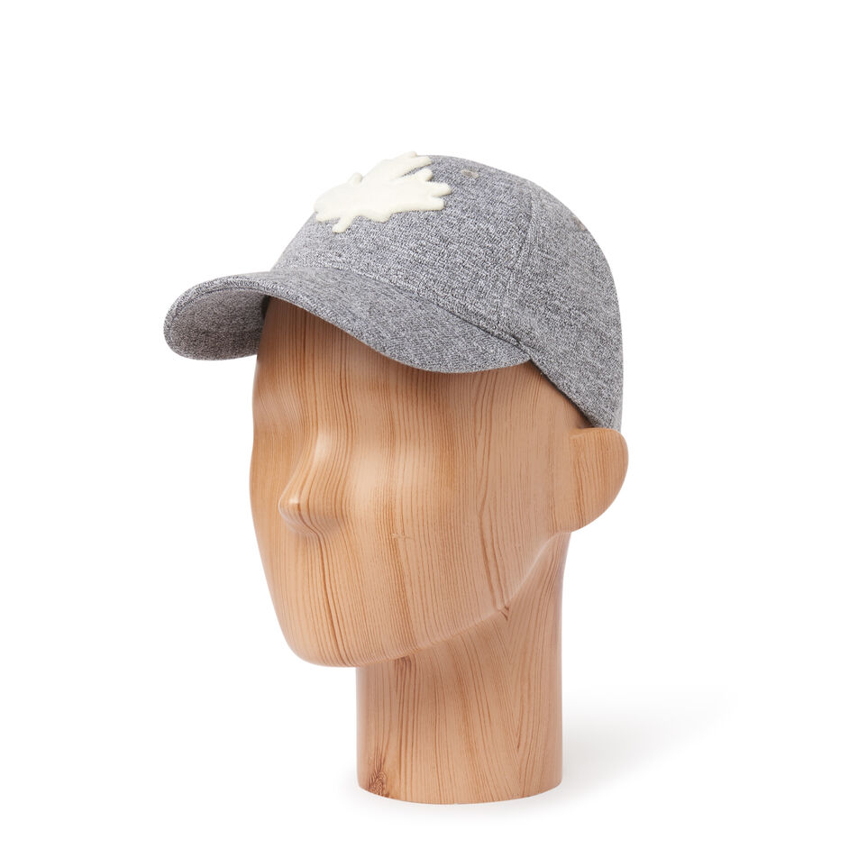 Roots-Kids Our Favourite New Arrivals-Kids Canada Baseball Cap-Salt & Pepper-B