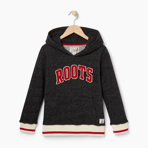 Roots-Kids Categories-Boys Roots Cabin Kanga Hoody-Black Pepper-A