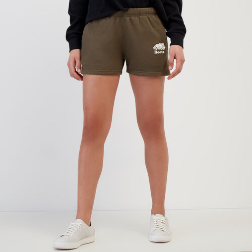 Roots-Women Shorts & Skirts-Original Sweatshort-Fatigue-A