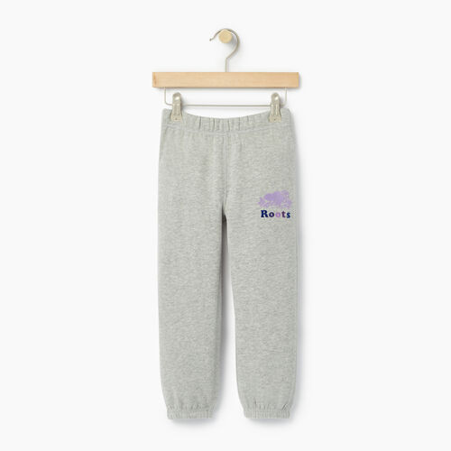 Roots-Clearance Kids-Toddler Original Roots Sweatpant-Grey Mix-A