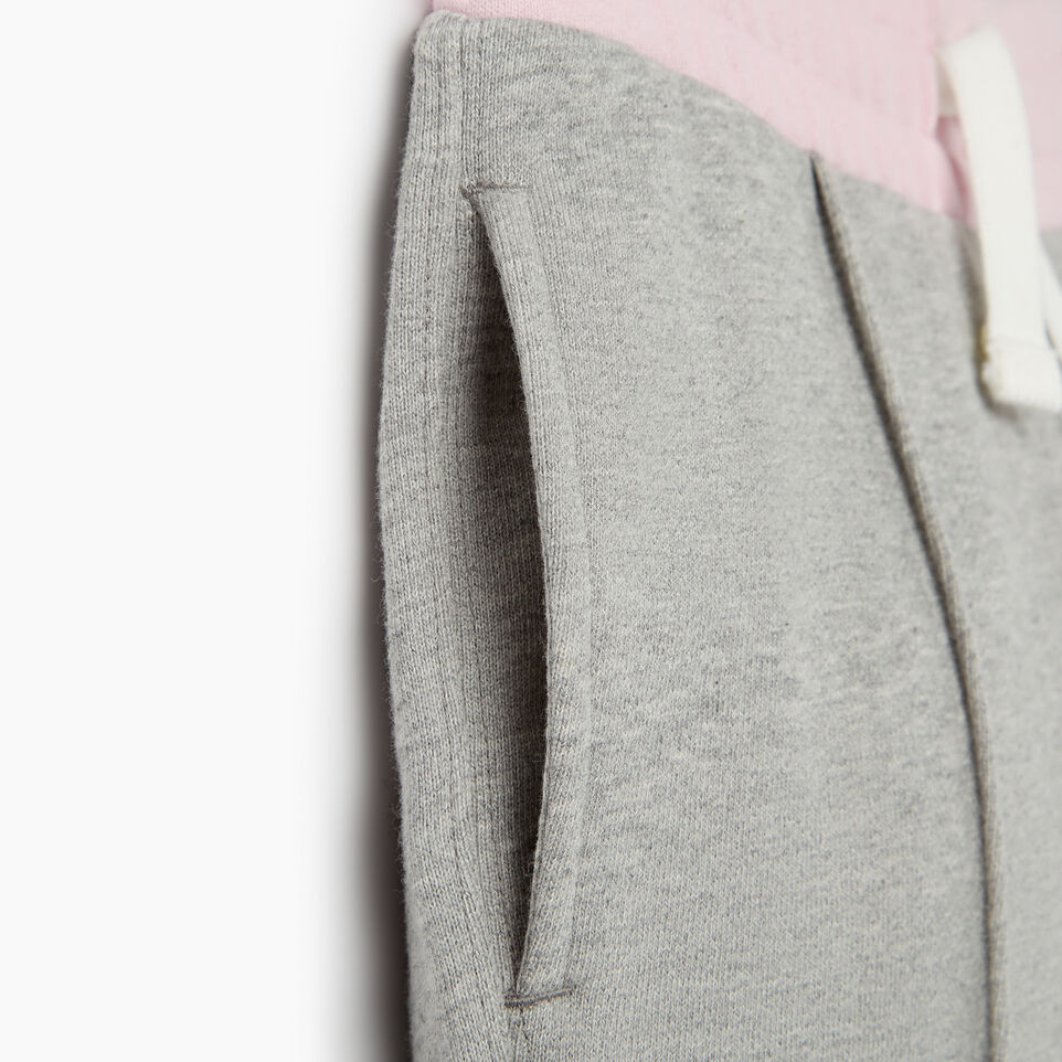 Roots-Clearance Kids-Girls Colour Block Sweatpant-Grey Mix-E