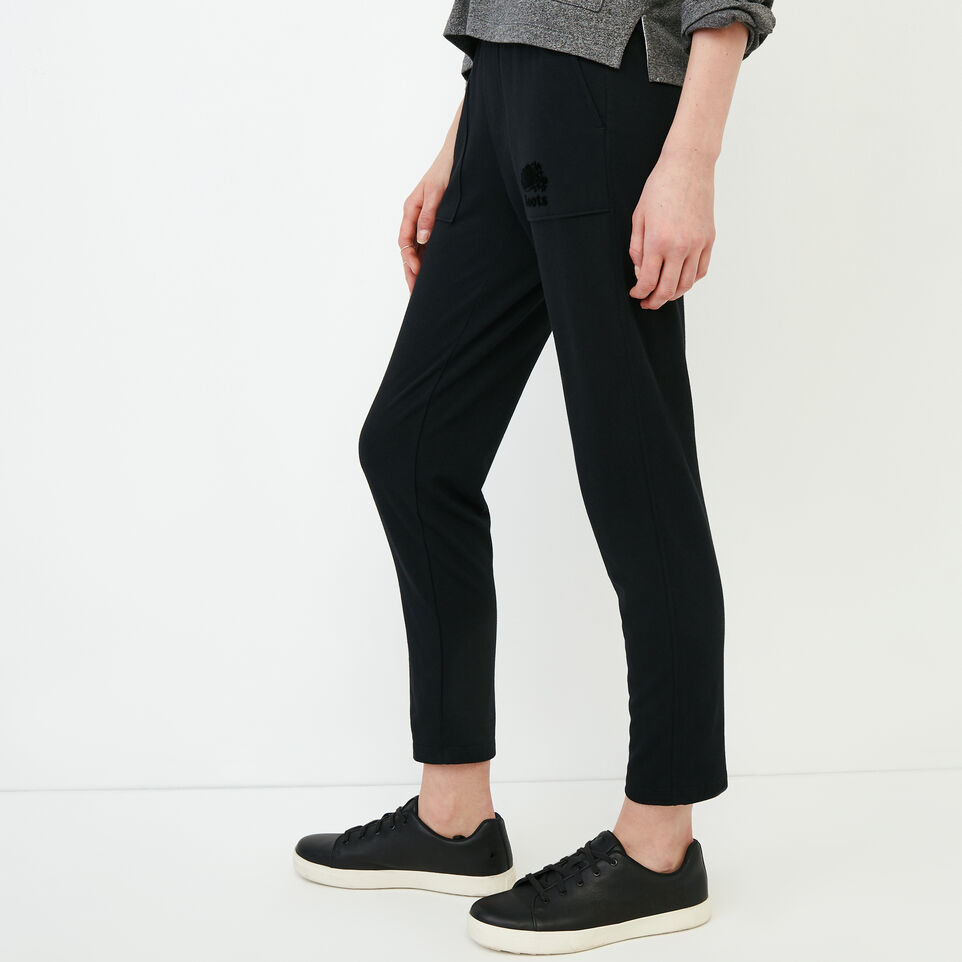 Roots-Women Our Favourite New Arrivals-Summerside Sweatpant-Black-C