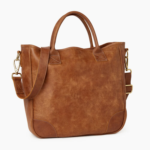Roots-Leather Our Favourite New Arrivals-Jasper Tote-Natural-A