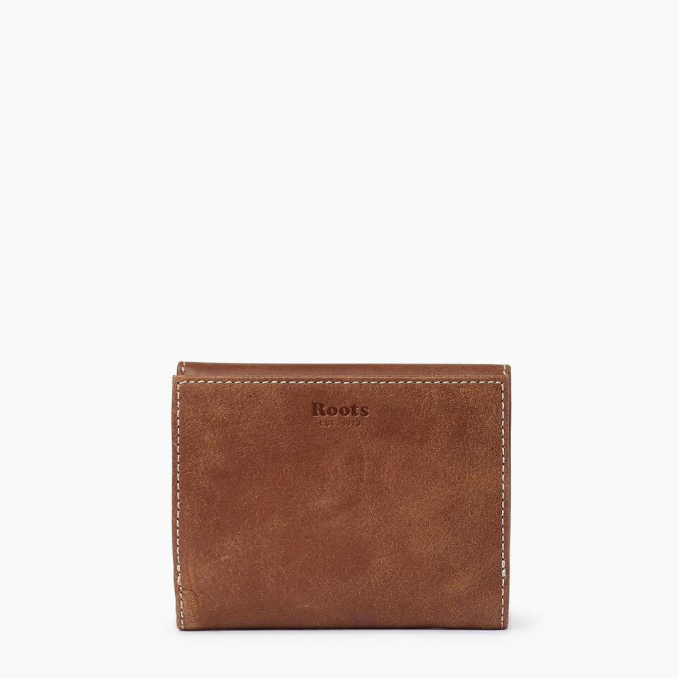 Roots-Leather Our Favourite New Arrivals-Riverdale Wallet-Natural-B
