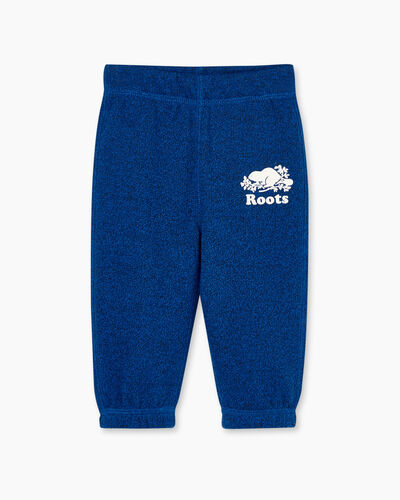 Roots-Kids Bottoms-Baby Original Sweatpant-Classic Blue Pepper-A