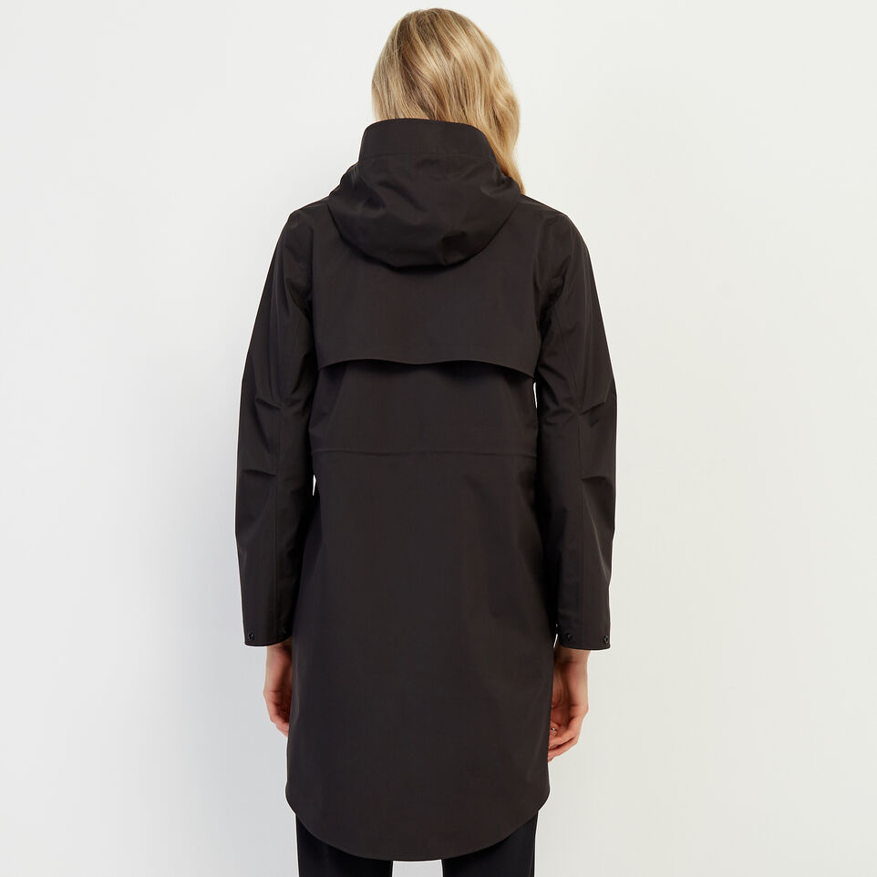 Roots-New For February Journey Collection-Journey Rain Jacket-Black-D