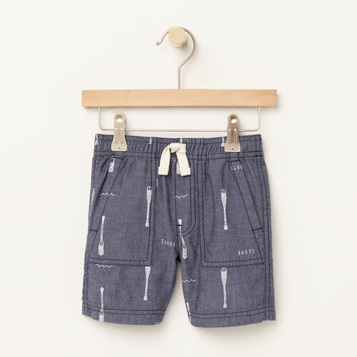 Roots-Sale Toddler-Toddler Pine Falls Cargo Short-Denim Mix-A