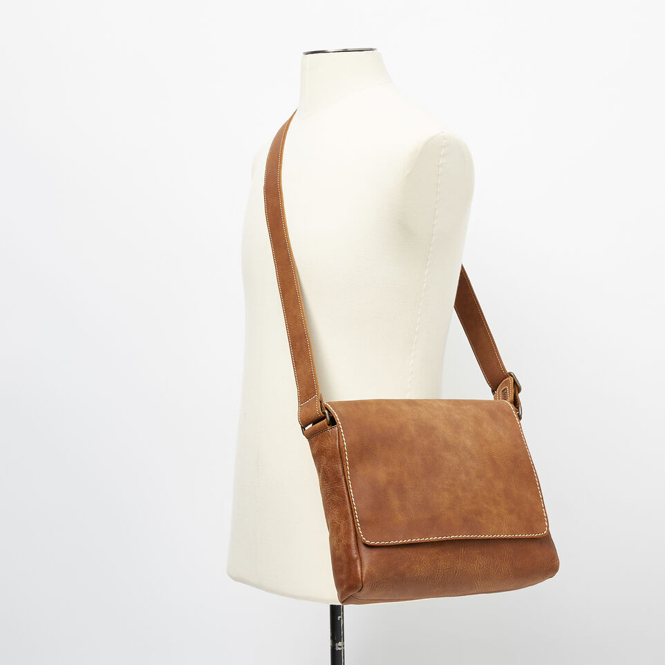 Roots-Leather Our Favourite New Arrivals-Raiders Bag Tribe-Natural-B