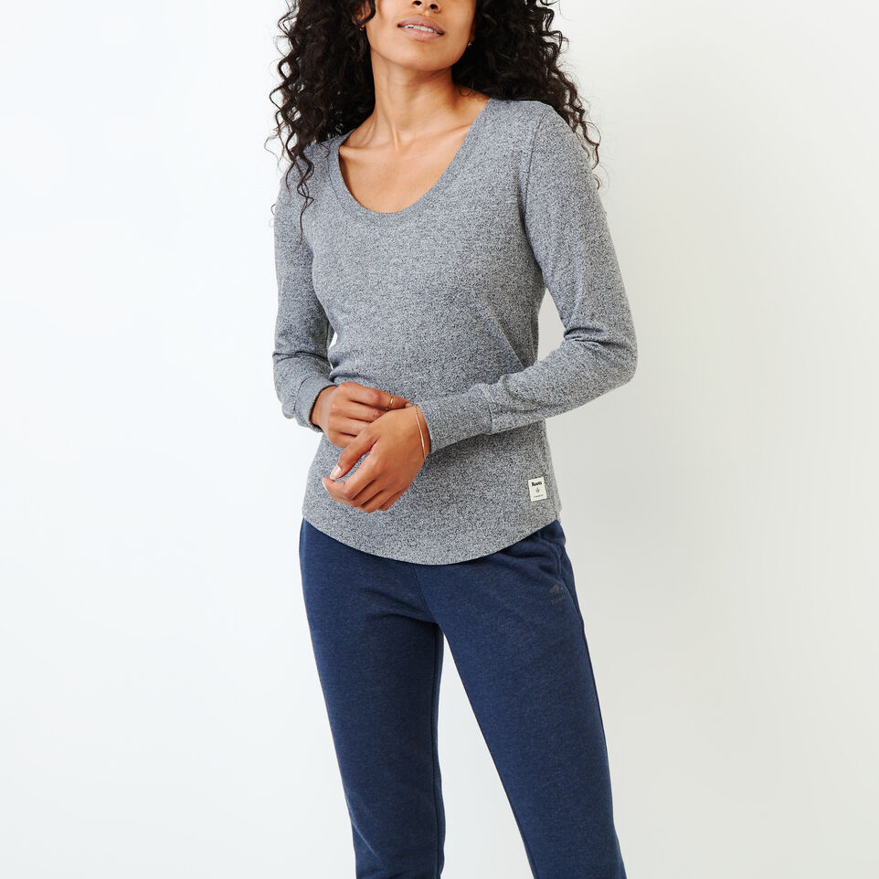 Roots-undefined-Peppered Scoop T-shirt-undefined-A