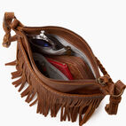 Roots-Leather  Handcrafted By Us Our Favourite New Arrivals-The Hippy Bag-Natural-D