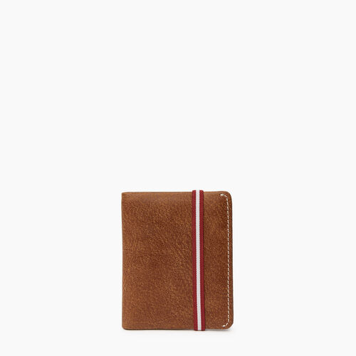 Roots-Cuir Portefeuilles-Porte-cartes Kensington-Nature-A