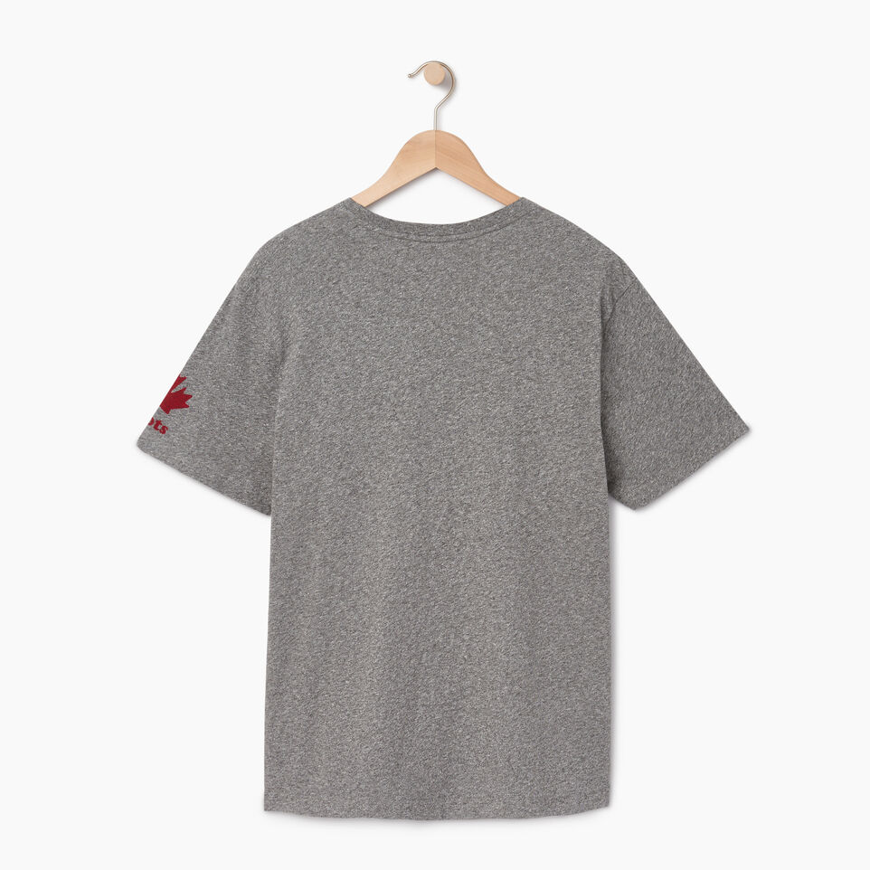 Roots-Men Canada Collection By Roots™-Mens Cooper Canada T-shirt-Grey Mix Pepper-B