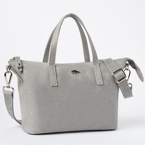Roots-Leather Tribe Leather-Small Zoe Bag Tribe-Quartz-A