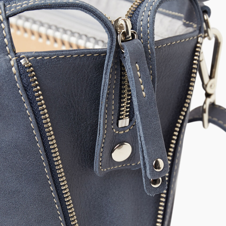 Roots-Leather New Arrivals-Arianna Bag Tribe-Navy-E