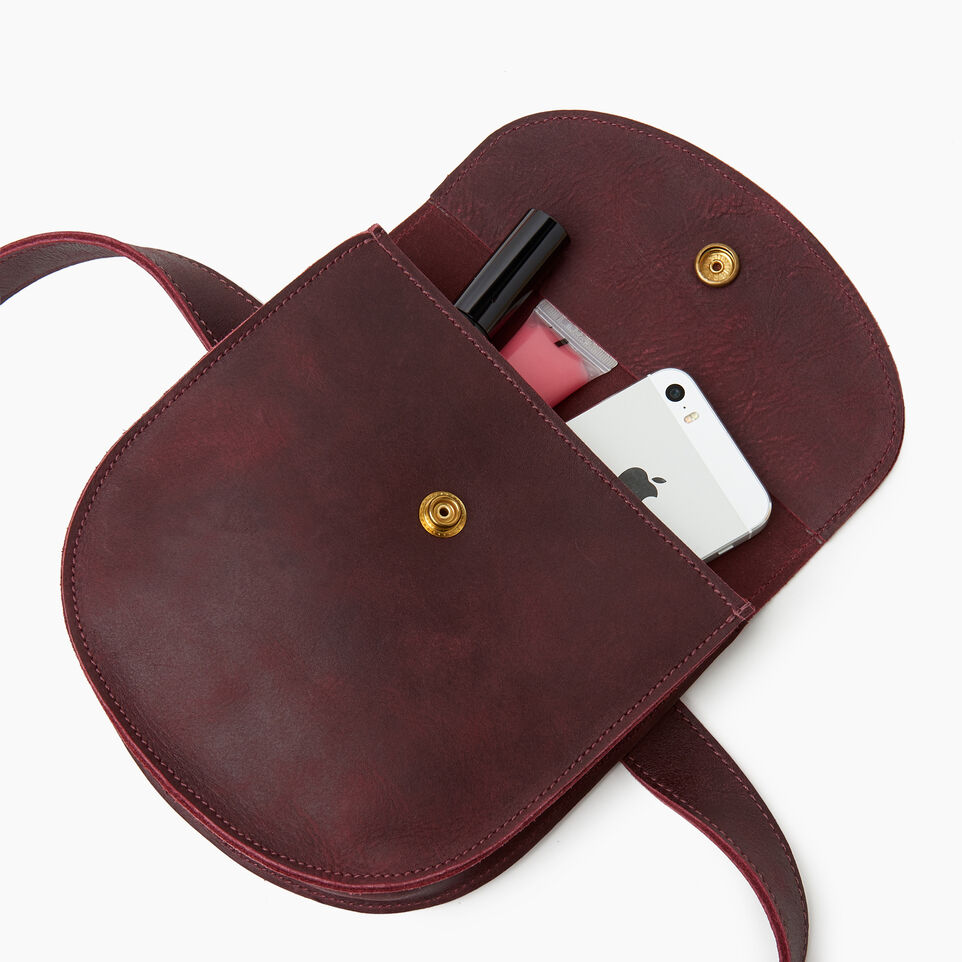 Roots-Leather Our Favourite New Arrivals-Lambert Belt Pack-Crimson-E