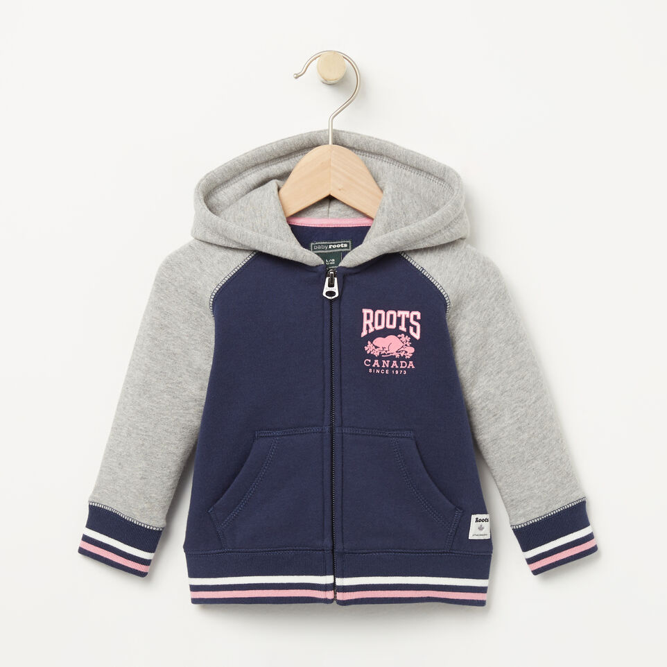 Roots-undefined-Baby RBC Varsity Full Zip Hoody-undefined-A
