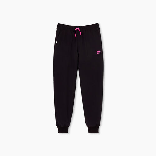 Roots-Kids Girls-Girls Outdoor Lined Jogger-Black-A