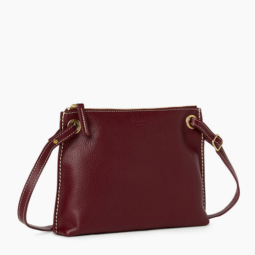 Roots-Leather Bestsellers-Edie Bag Cervino-Bordeaux-A