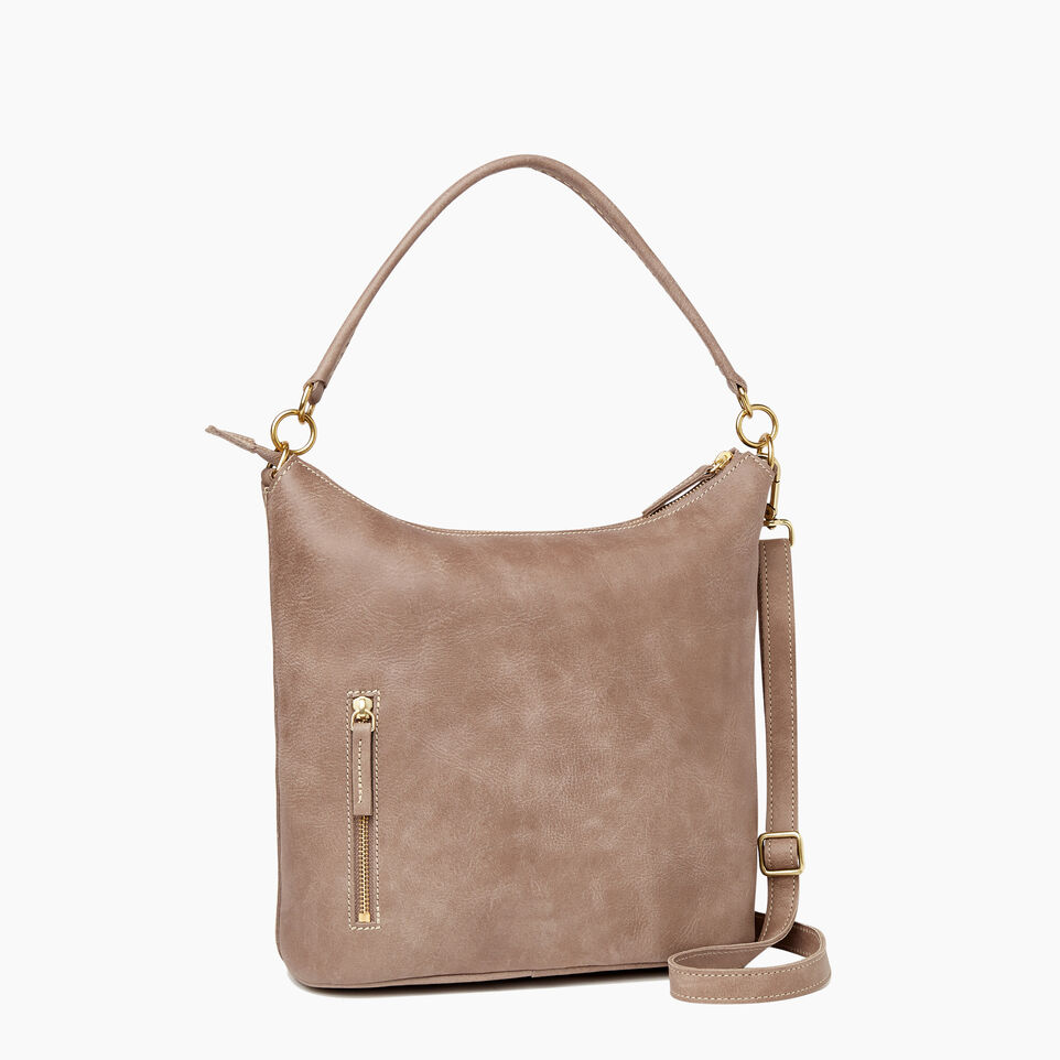 Roots-Leather  Handcrafted By Us Our Favourite New Arrivals-Ella Bag-Fawn-C