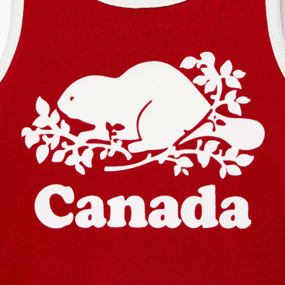 Roots-Kids Our Favourite New Arrivals-Baby Canada Tank Dress-Sage Red-C