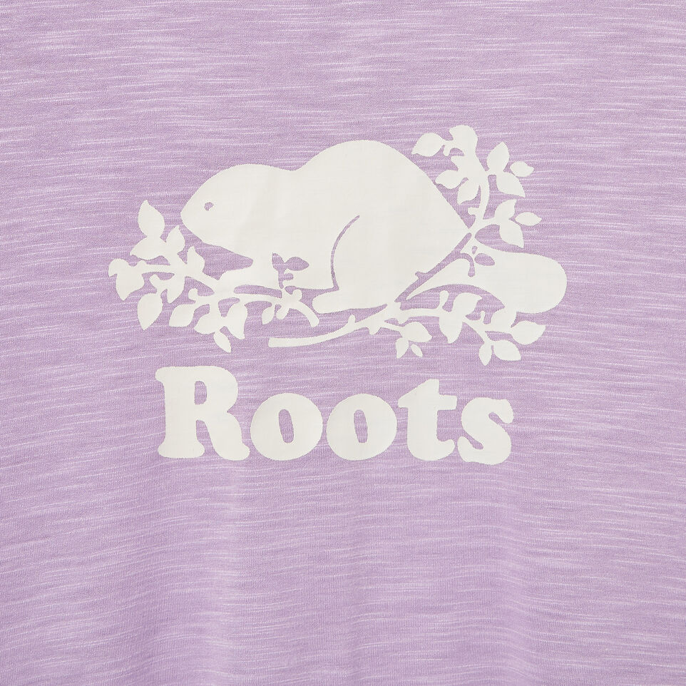 Roots-New For August Kids-Girls Lola Active Swing T-shirt-Lavendula-D