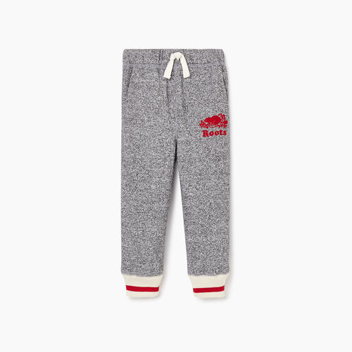 Roots-Kids Toddler Boys-Toddler Roots Cabin Sweatpant-Salt & Pepper-A