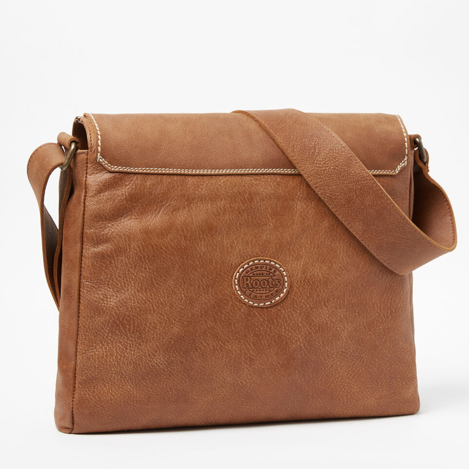 Roots-Leather Our Favourite New Arrivals-Raiders Bag Tribe-Natural-C