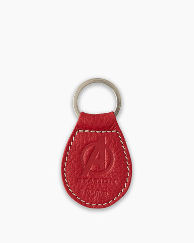 Roots-New For This Month Shop By Character-Avengers Key Fob-Red-A