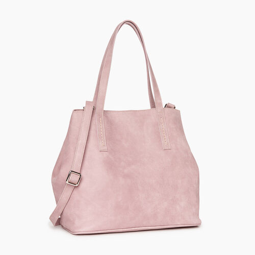 Roots-Leather Totes-Amelia Tote-Woodrose-A