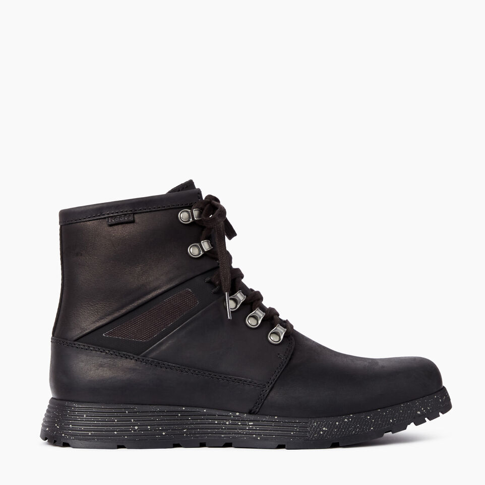 Roots-Clearance Footwear-Mens Temagami Winter Boot-Black-A