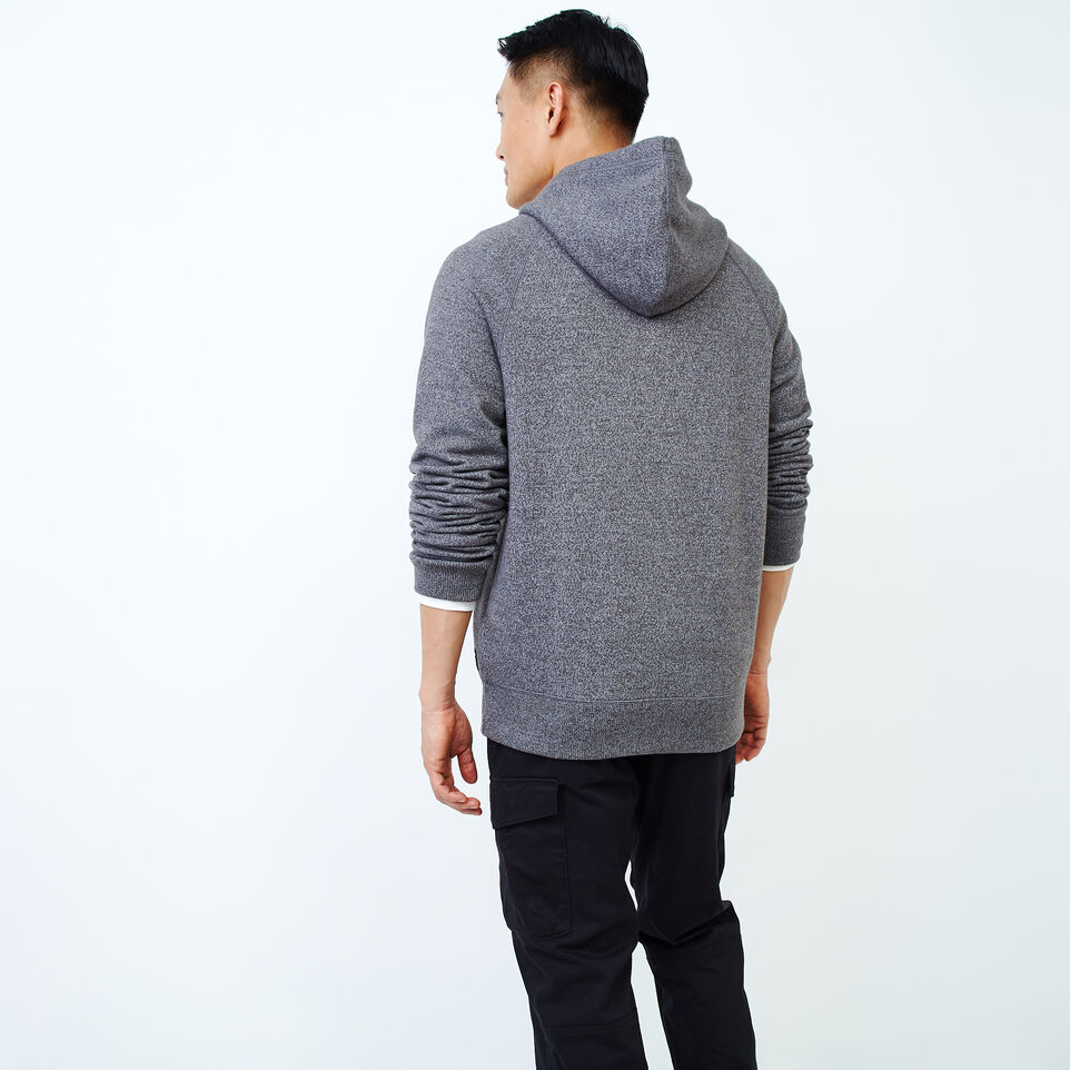 Roots-Men Our Favourite New Arrivals-Chenille Kanga Hoody-Charcoal Pepper-D