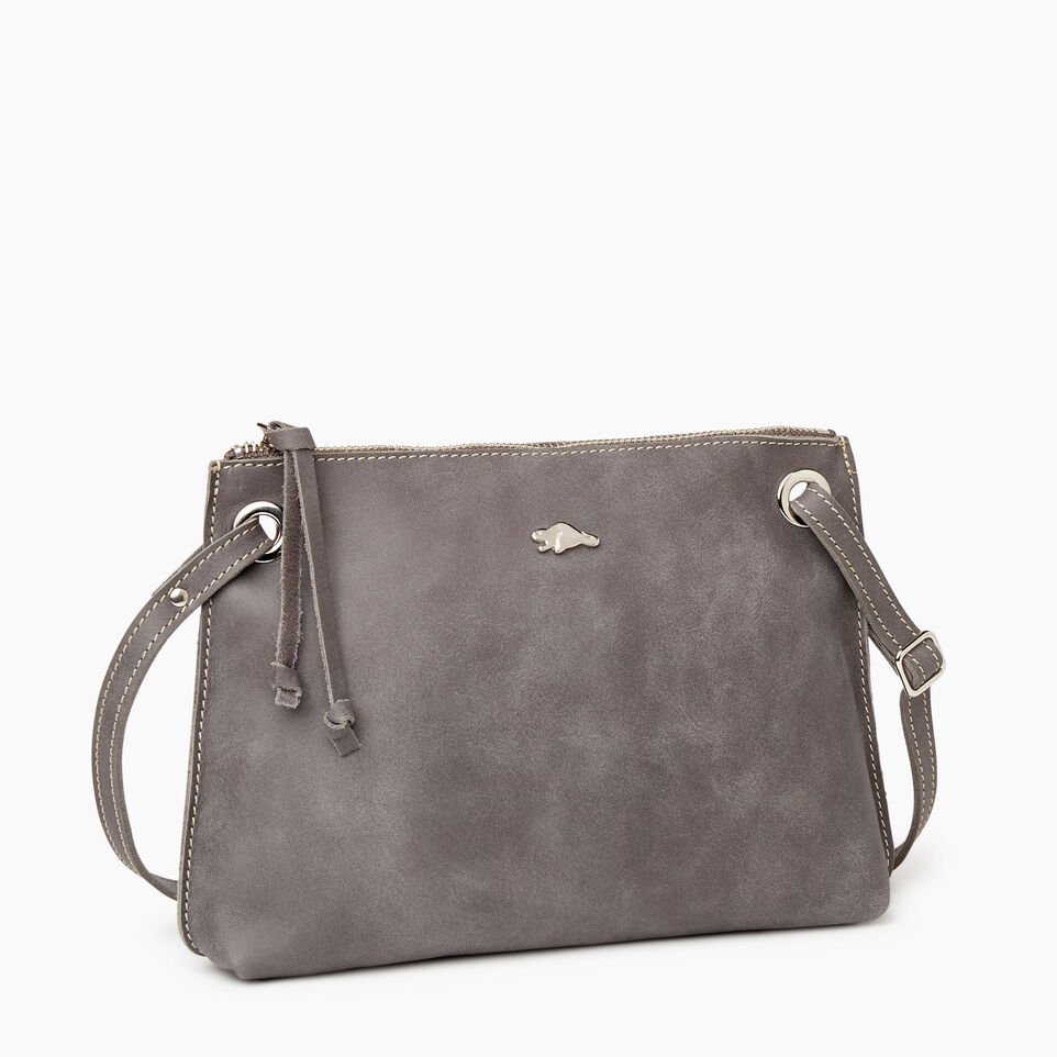 Roots-Women Bags-Edie Bag-Charcoal-A