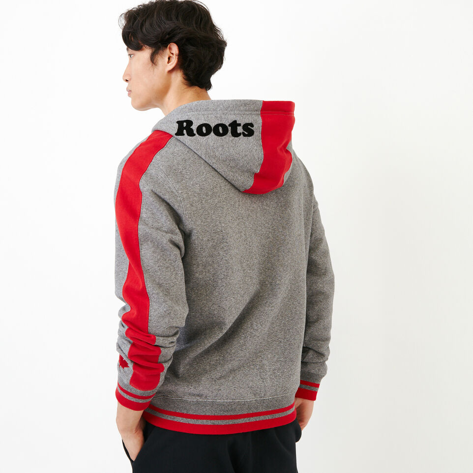 Roots-Men Canada Collection By Roots™-Canada Zip Hoody-Grey Mix Pepper-D