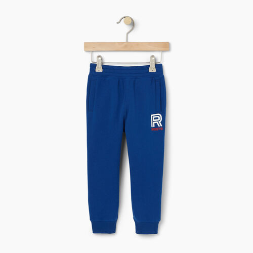 Roots-Kids Toddler Boys-Toddler Sportsmas Fleece Pant-Active Blue-A