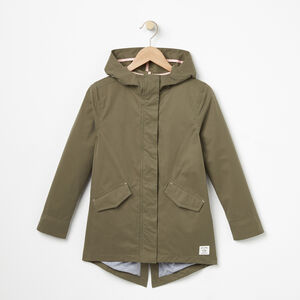 Roots-Kids Girls-Girls Wilderness Jacket-Dusty Olive-A