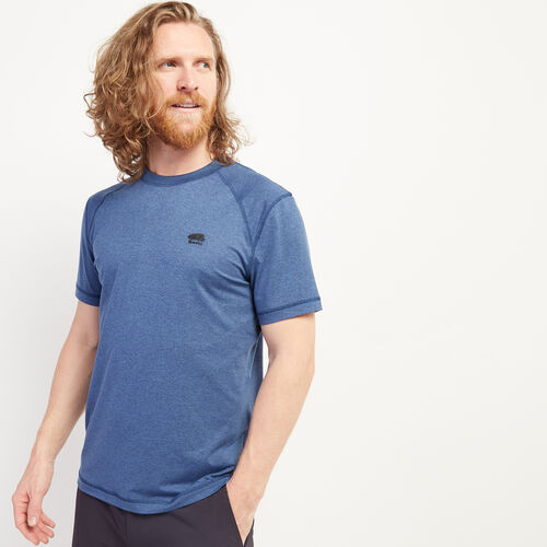 Roots-Men Clothing-Journey T-Shirt-Federal Blue Mix-A