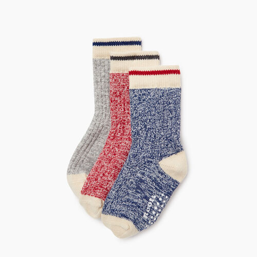 Roots-Kids Toddler Boys-Toddler Cabin Sock 3 Pack-Navy-A