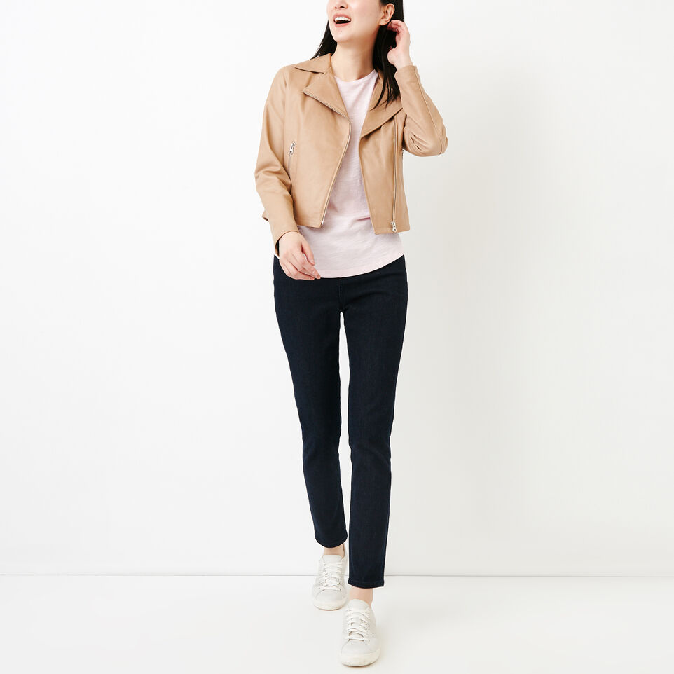 Roots-New For August Women-Savin Top-Pink Mist-B